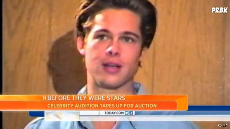 Brad Pitt passe une audition en 1991