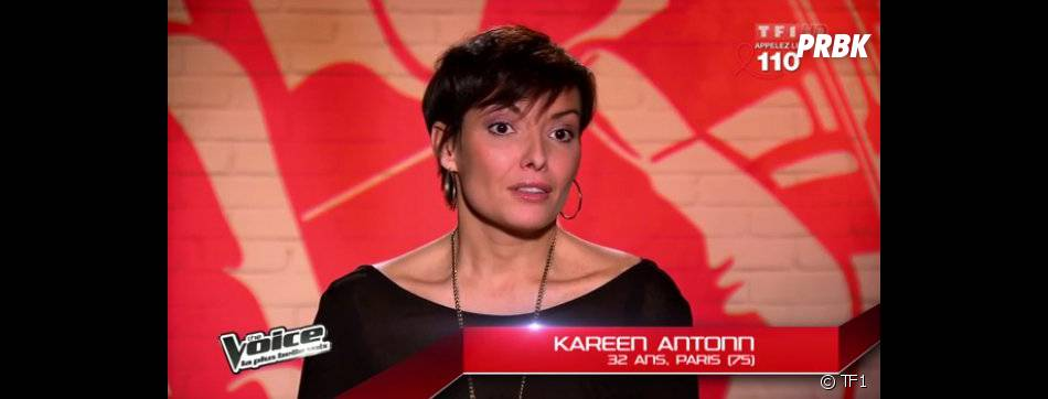 Kareen Antonn a affronté Aurore Delplace sur le titre You Raise me Up de Josh Groban dans The Voice 2.