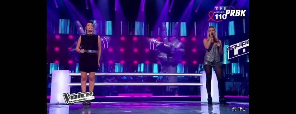 Aurore Delplace et Kareen Antonn ont tout donné sur le plateau de The Voice 2.