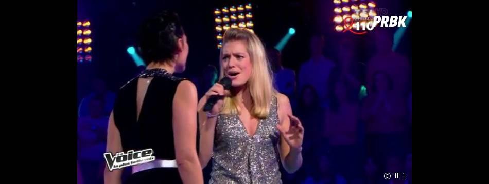 C'est finalement Aurore Delplace qui a été choisie par Louis Bertignac. Kareen Antonn a été éliminée de The Voice 2.