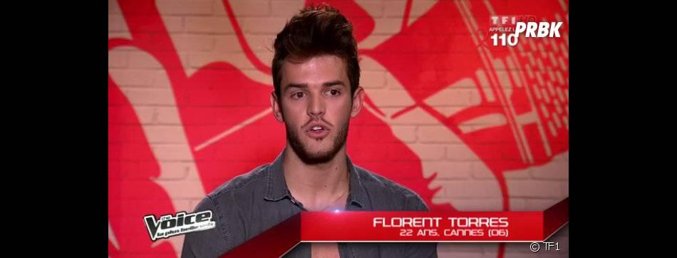 Florent Torres fait partie de l'équipe de Jenifer dans The Voice 2.