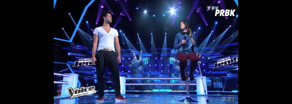 La deuxième Battle opposait Florent Torres à Fanny Melili dans The Voice 2.