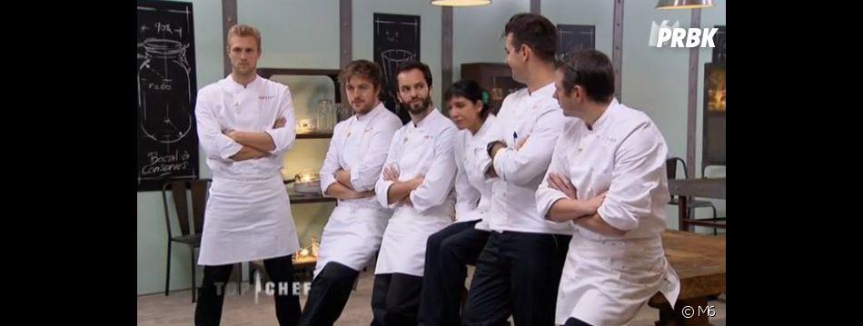 Les candidats ont attendu le verdict de cette première épreuve de Top Chef 2013.