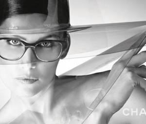 Laetitia Casta est le visage de la ligne eyewear Chanel 2013
