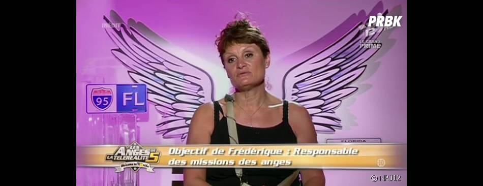 Frédérique la doyenne a pensé à quitter la villa des Anges de la télé-réalité 5 suite à son clash avec Frédérique.