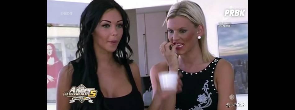 Nabilla et Amélie Neten sont les stars des Anges de la télé-réalité 5.