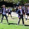 Une demande en amriage dansante façon Glee