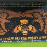 Dortmund : l'incroyable tifo animé des supporters allemands