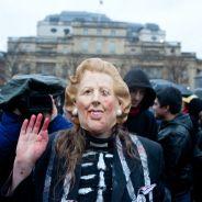 """Mort de Margaret Thatcher : des centaines d'opposants fêtent la """"Thatcher Death Party"""""""
