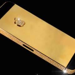 iPhone 5 : 12 millions d'euros pour un modèle en or et serti de diamants