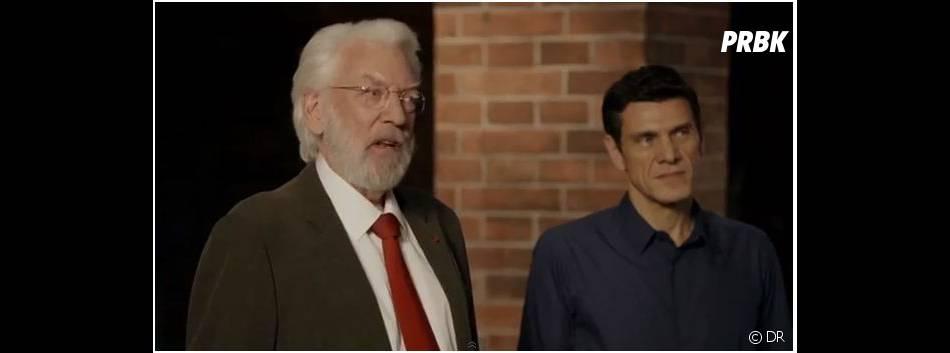 Marc Lavoine face à Donald Sutherland dans Crossing Lines