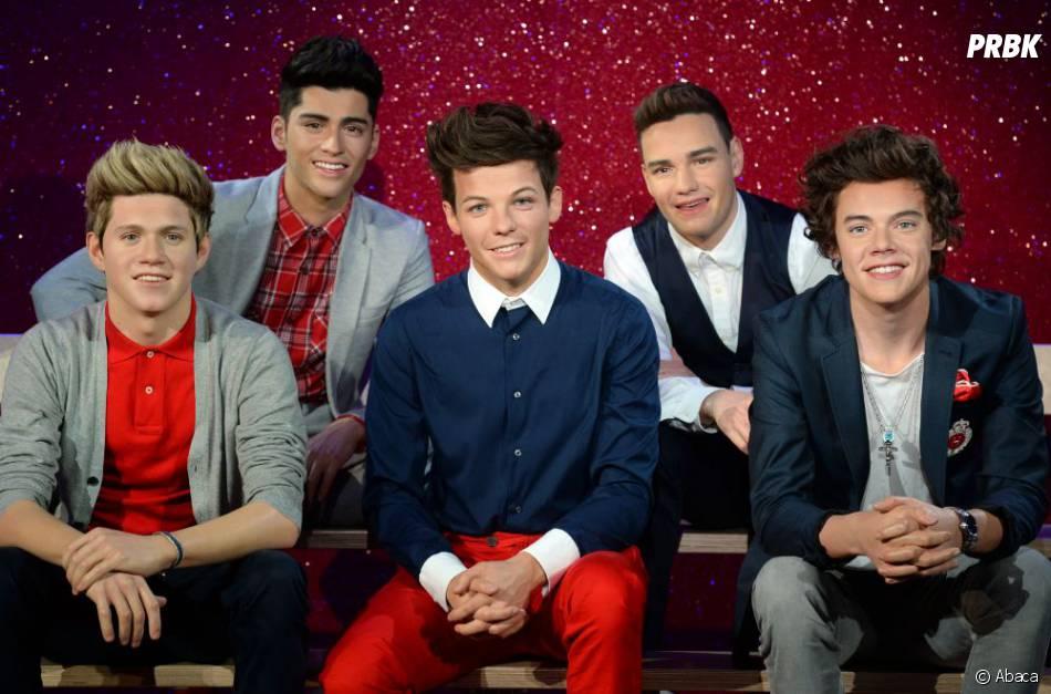 Les fans ont pu découvrir les statues de cire des One Direction au Musée de Madame Tussauds à Londres.