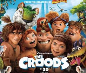 Les Croods auront bientôt une suite au cinéma