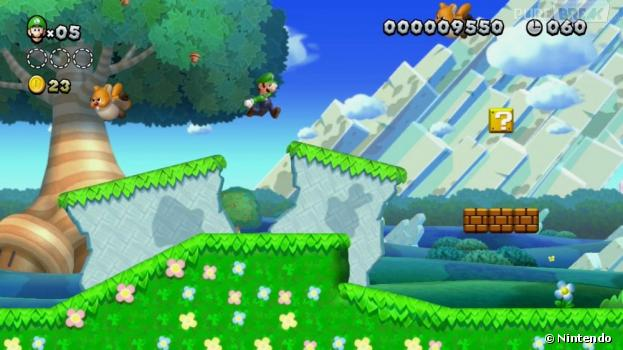 New Super Luigi U donne la part belle au frère de Mario