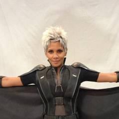 X-Men Days of Future Past : Halle Berry, enceinte, se dévoile en costume de Tornade