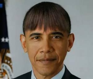 Barack Obama exhibe sa nouvelle frange