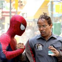 The Amazing Spider-Man 2 : Peter Parker sauve la vie de Jamie Foxx