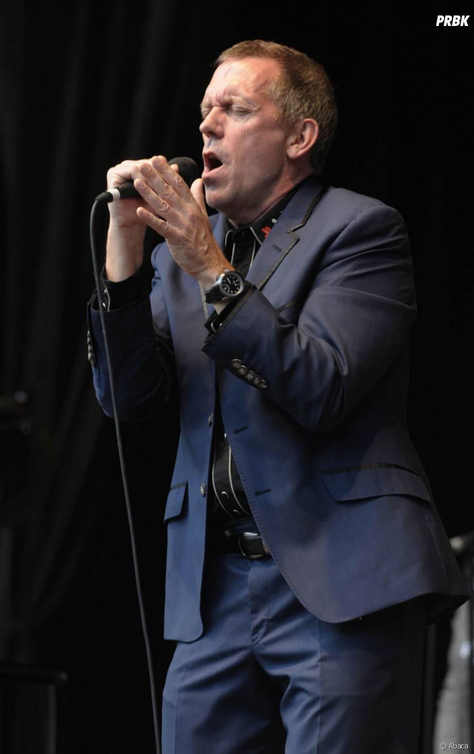 Hugh Laurie, en pleine promo de son deuxième album