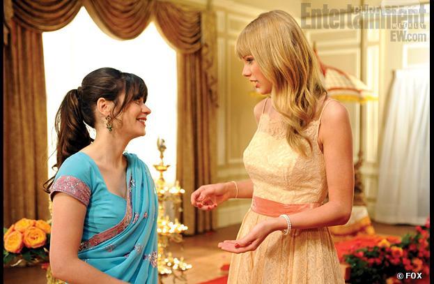 Taylor Swift dans le final de la saison 2 de New Girl