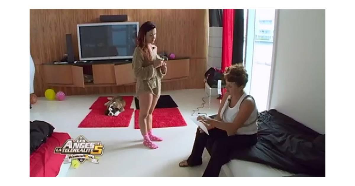 les anges de la t l r alit 5 geoffrey et capucine font les coll giens fr d rique fait du. Black Bedroom Furniture Sets. Home Design Ideas