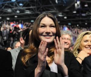 Carla Bruni, fragile après son accouchement