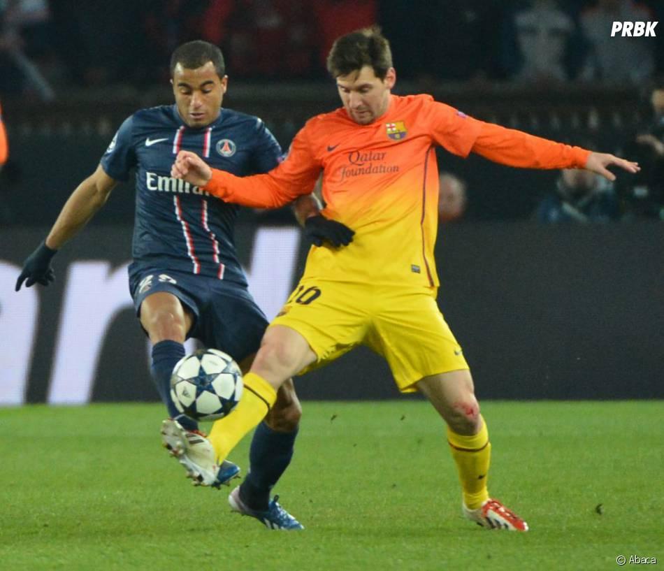 Lucas Moura Foot: Lucas Moura Copie Lionel Messi Au Rayon Autographes