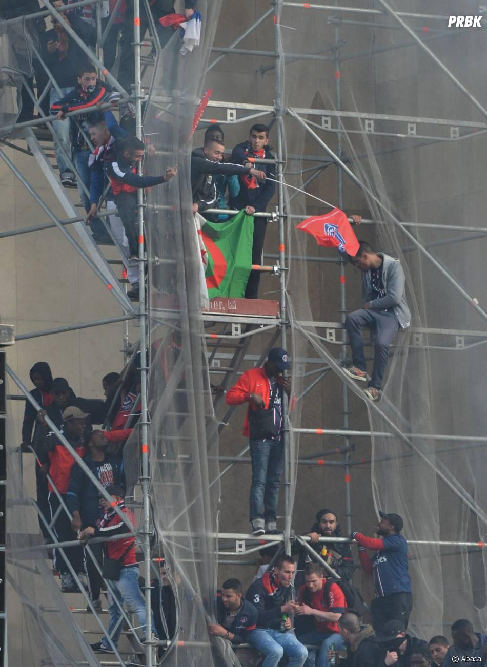 Des Ultras du PSG ont gâché la fête