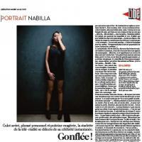 "Nabilla Benattia dans Libération : Jean-Marie Le Pen ? ""Il est trop marrant ce mec !"""