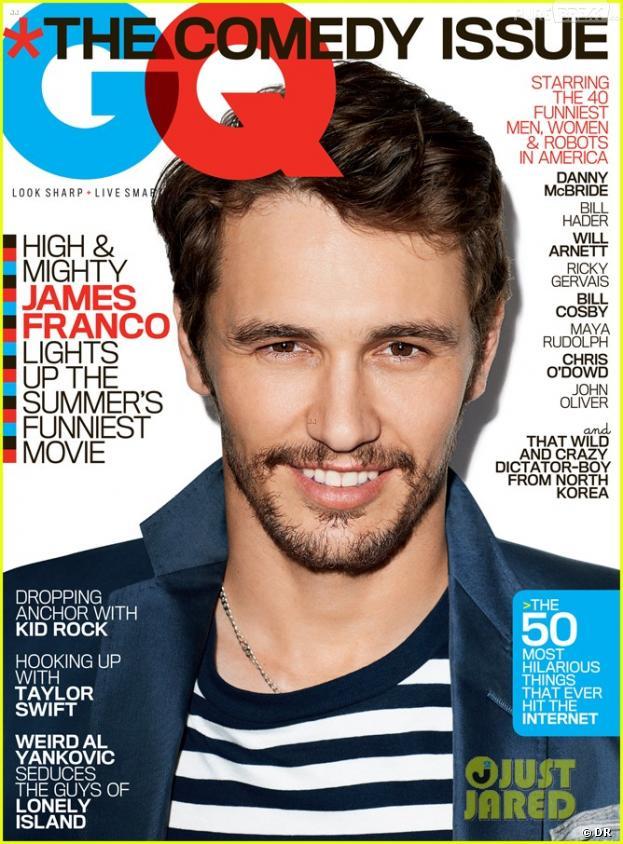 James Franco en couverture de GQ