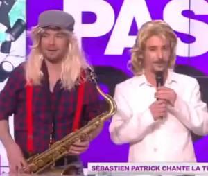 """Sébastien Patrick chante """"Et quand il pète il troue son slip"""""""