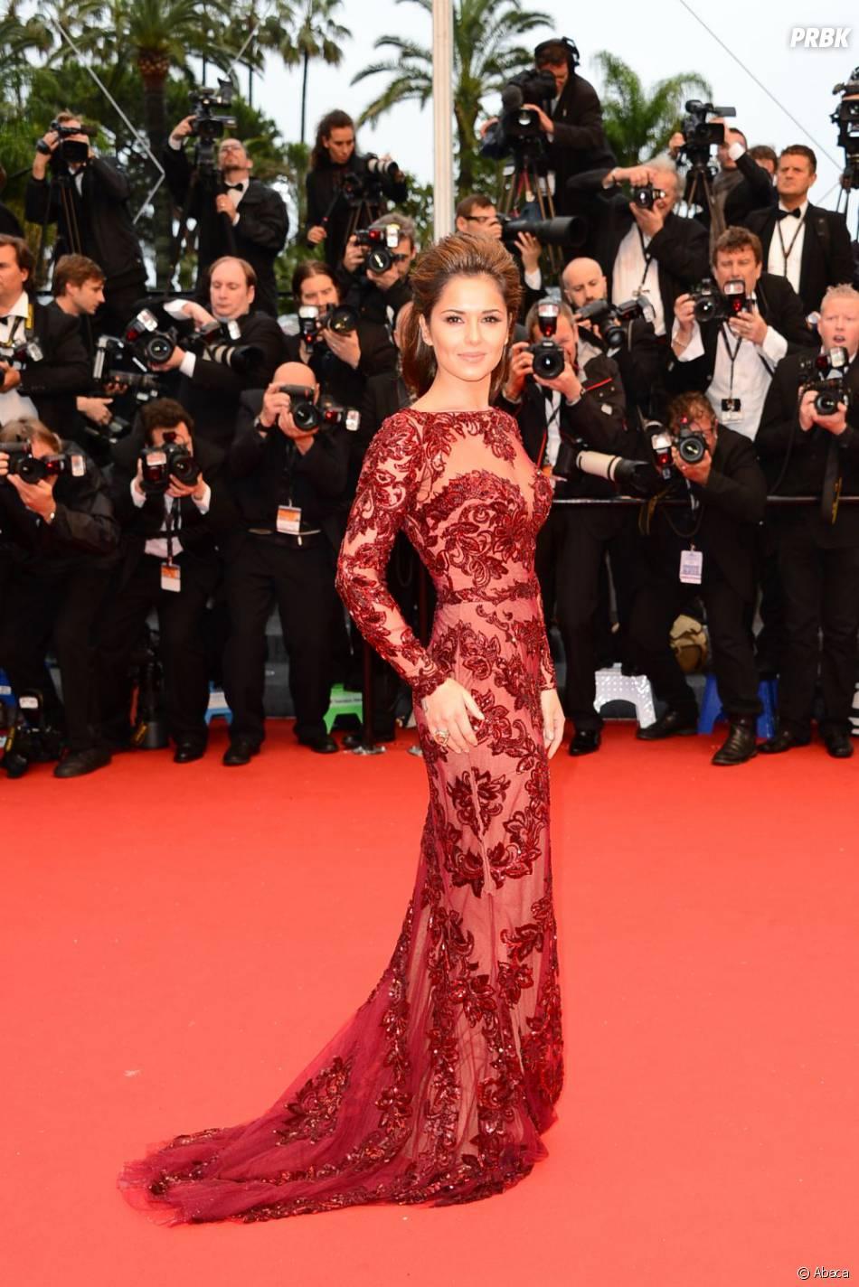 De la dentelle et de la transparence pour Cheryl Cole
