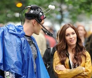 Megan Fox et Alan Ritchson sur le tournage des Tortues Ninja