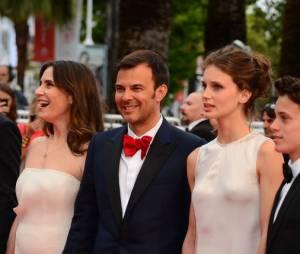 François Ozon et l'équipe de Jeune et Jolie au festival de Cannes 2013