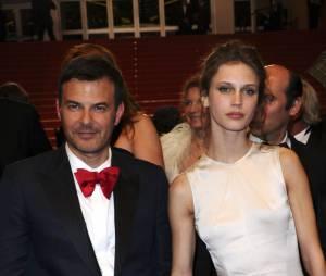 François Ozon et Marine Vacht au festival de Cannes 2013