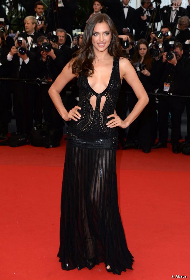 Irina Shayk, THE bombe du festival de Cannes 2013