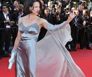 Asia Argento pour la cérémonie de clôture du Festival de Cannes 2013, le 26 mai