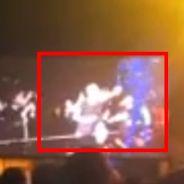 Beyoncé tripotée par un fan en plein concert