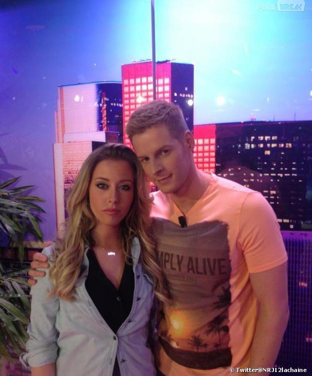 Nelly de la BESP2 avec Matthieu Delormeau dans le Mag.
