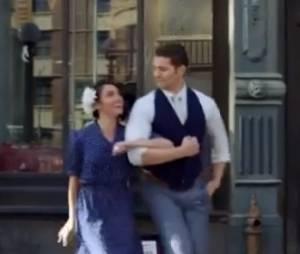 Matthew Morrison enchaîne les pas de danse dans on clip