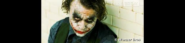 Heath Ledger en Joker dans The Dark Knight de Christopher Nolan