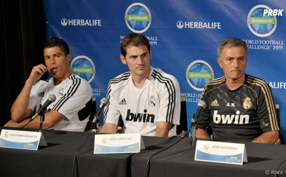 José Mourinho, ici avec Iker Casillas, n'a pas que des fans à Madrid