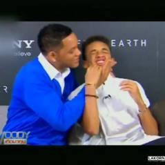 Will Smith et son fils Jaden : bisou sur la bouche en famille