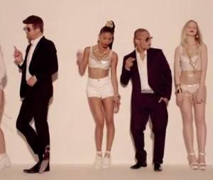 Blurred Lines de Robin Thicke feat. Pharrell Williams en quatrième position des tubes de l'été selon Shazam
