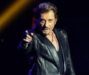 Johnny Hallyday fête ses 70 ans à Bercy ce 15 juin 2013.