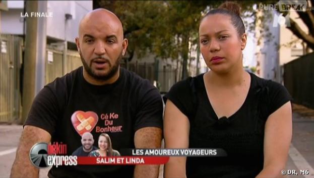 Pekin Express 2013 : Salim et Linda pensent à la victoire.