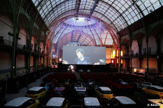 Cinéma Paradiso : Le Grand Palais se transforme en drive-in géant du 10 juin au 21 juin 2013
