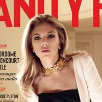Vanity Fair France : Scarlett Johansson, star glam du premier numéro