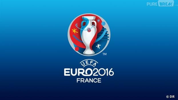 euro 2016 le logo d voil avec le drapeau de la chine. Black Bedroom Furniture Sets. Home Design Ideas