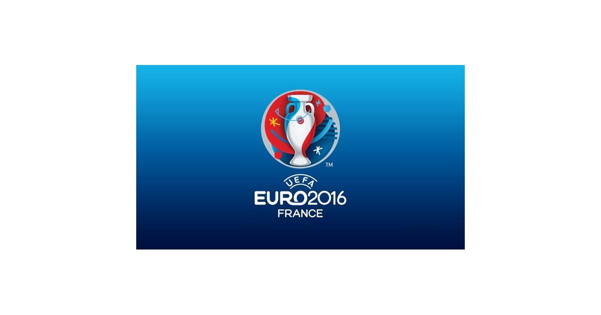euro 2016 le logo d voil avec le drapeau de la chine purebreak. Black Bedroom Furniture Sets. Home Design Ideas