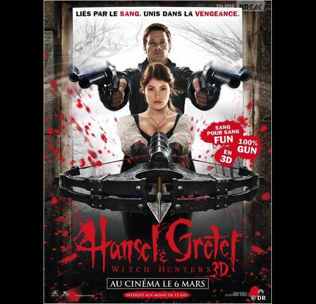 Hansel & Gretel : Witch Hunters, l'affiche